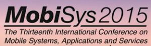 Mobisys 2015 logo
