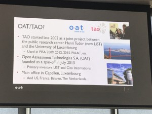 The Hack subject, The OAT TAO testing application