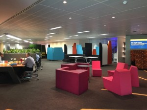 The Bankwest lounge