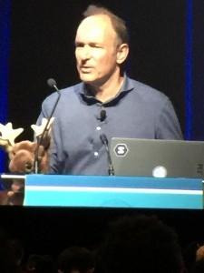 Tim Berners Lee keynote
