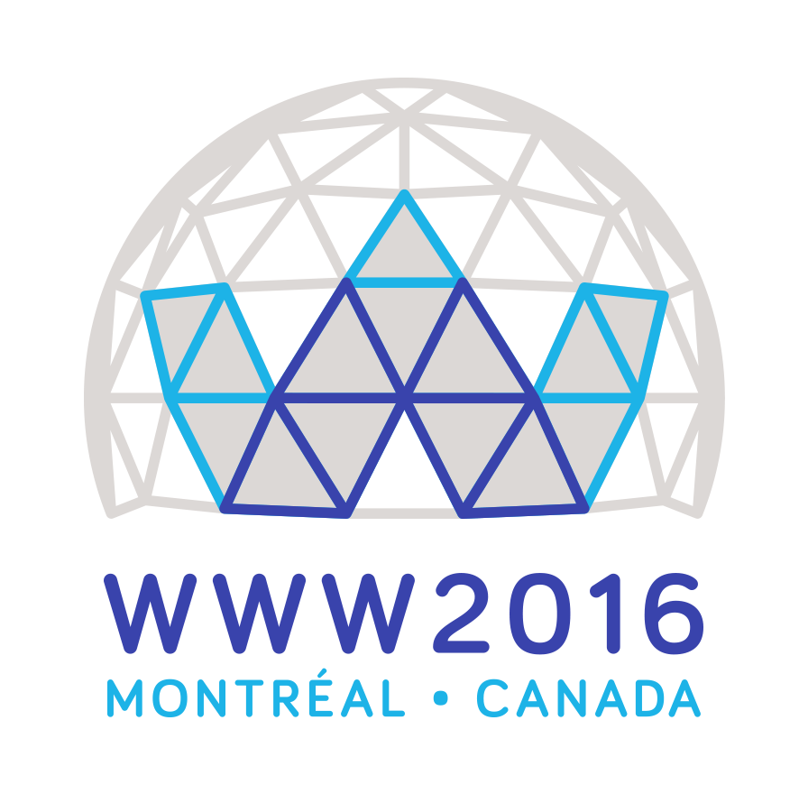 WWW2016 conference logo